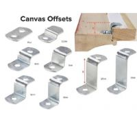 Canvas Offset Clamp 25mm (Two Hole)